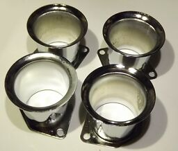 4x Velocity Stacks air horn pipe trumpet WEBER 40/44/48 IDF HPMX EMPI visual def