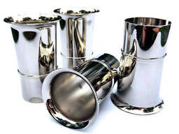 4x Velocity Stacks air horn pipe trumpet premium quality finish WEBER 45 DCOE
