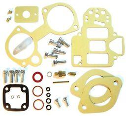 Weber 40 DCOE Service Gasket kit repair rebuild set+fuel filter+valve+pin+screws
