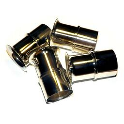 4x Velocity Stacks air horn pipe trumpet premium quality finish WEBER 40 DCOE