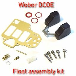 Weber DCOE float assembly kit - fits FAJS/EMPI 38/40/45/48 all in one