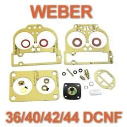 Weber 36/40/42/44 DCNF service gasket kit repair set diaphragm valve float pin