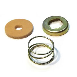 Spindle shaft leather seal spring cover cup repair kit early Weber DCOE