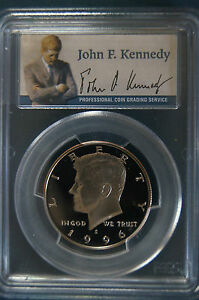 Click now to see the BUY IT NOW Price! 1996 S PCGS PR70DCAM PROOF KENNEDY CLAD  HALF     TOP POP  DEEP CAMEO  PORTRAIT