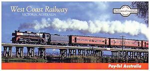 PAY.TEL PHONE CARD COLLECTORS' PACK   WEST COAST RAILWAY   LTD EDITION MINT