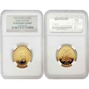 Click now to see the BUY IT NOW Price! ZAMBIA 1999 QUEEN MOTHER 10 000 KWACHA GOLD NGC PF 69