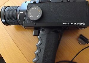 bolex 480 macrozoom super 8 cine camera
