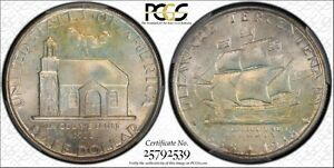 Click now to see the BUY IT NOW Price! 1936 50C DELAWARE SILVER COMMEMORATIVE MS67 PCGS/CAC
