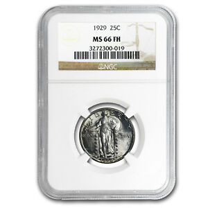 Click now to see the BUY IT NOW Price! 1929 STANDING LIBERTY QUARTER MS 66 NGC  FULL HEAD
