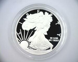 2012 PROOF AMERICAN SILVER EAGLE ASE $1 IN OGP  ASE2012