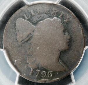 PCGS G06 1796 LIBERTY CAP LARGE CENT S 82 R5