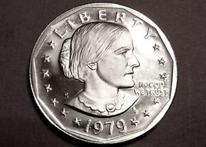 KEY DATE SBA $1 DEEP PROOF CAMEO SUSAN B ANTHONY DOLLAR COLLECTABLE CONI LOTS