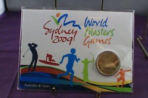Click now to see the BUY IT NOW Price! 2009 PERTH MINT SYDNEY WORLD MASTERS GAMES $1 UNCIRCULATED COIN