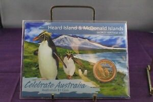Click now to see the BUY IT NOW Price! 2010 PERTH MINT HEARD ISLAND & MCDONALD ISLANDS CELEBRATE AUSTRALIA $1 UNC COIN
