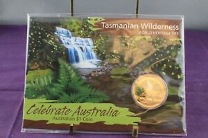 Click now to see the BUY IT NOW Price! 2010 PERTH MINT TASMANIAN WILDERNESS CELEBRATE AUSTRALIA PAINTED $1 UNC COIN