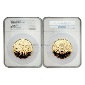 Click now to see the BUY IT NOW Price! SOMALIA 2015 ELEPHANT 1500 SHILLINGS 5 OZ GOLD NGC PF68 CAMEO SKU6016