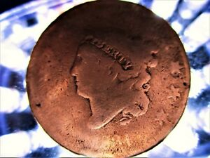 U.S. LARGE PENNY CENT CORONET/MATRON HEAD 1834
