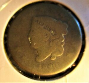1830 U.S. COIN: MATRON HEAD LARGE CENT