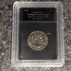 UNCIRCULATED 1999 SUSAN B ANTHONY DOLLAR USA COIN