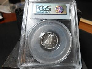 Click now to see the BUY IT NOW Price! 2000 P CANADIAN 10 CENT TEST COIN PCGS MS 68