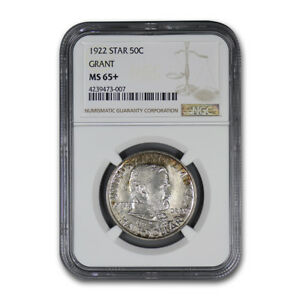 Click now to see the BUY IT NOW Price! 1922 GRANT MEMORIAL COMMEMORATIVE HALF DOLLAR W/ STAR MS 65  NGC   SKU170868