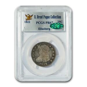 Click now to see the BUY IT NOW Price! 1822 CAPPED BUST QUARTER PR 67 PCGS CAC   SKU171075