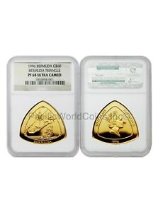 Click now to see the BUY IT NOW Price! BERMUDA 1996 G$60 BERMUDA TRIANGLE GOLD COIN NGC PF 68 ULTRA CAMEO  SKU5568