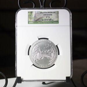 Click now to see the BUY IT NOW Price! 2011 P CHICKASAW NGC SP70     REV. TYE'S STACHE    9008337
