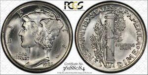 Click now to see the BUY IT NOW Price! 1925 D 10C PCGS MERCURY DIME PCGS MS66FB FULL BANDS CAC APPROVED WHITE PQ