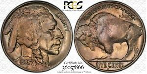 Click now to see the BUY IT NOW Price! 1937 D 5C 3 LEGGED BUFFALO NICKEL PCGS MS65    KEY DATE   SUPER PQ