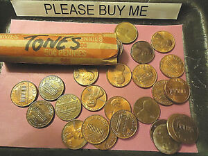 ROLL OF TONED COINS     DIFFERING YEARS     > COMBINE POSTAGE <