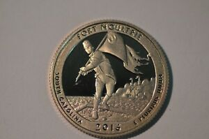 2016 S PROOF FORT MOULTRE  AMERICAN THE BEAUTIFUL QUARTER  ITEM  540