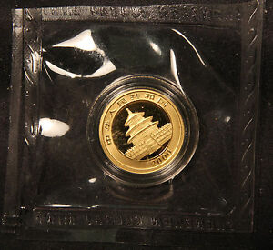 Click now to see the BUY IT NOW Price! 2000 CHINA GOLD PANDA 10 YUAN 1/10 OUNCE IN ORIGINAL CAP   MINT SEALED.