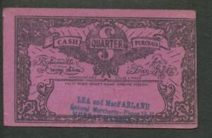 Click now to see the BUY IT NOW Price! 1930S CANADA DEPRESSION ERA SCRIP MONEY TOKEN PAPER CURRENCY. PURPLE 2 PEI