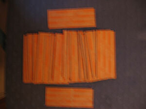 LOT OF 15 FLAT PAPER QUARTER COIN WRAPPERS  EMPTY
