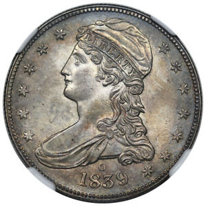 Click now to see the BUY IT NOW Price! 1839 O REEDED EDGE HALF DOLLAR NGC MS 64