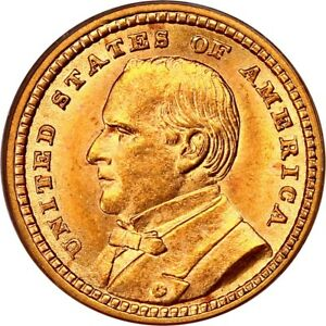 1903 LOUISIANA PURCHASE / MCKINLEY GOLD DOLLAR   PCGS MS 64   MINT STATE 64