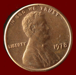 1978 P LINCOLN CENT SHIPS FREE. BUY 5 FOR $2 OFF
