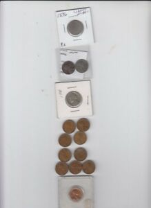 14 COIN LOT NICKELS AND CENTS