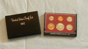 1982 US MINT PROOF SET W/BOX AND DISPLAY BOX OPTION   CHECK IT OUT 1