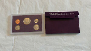 1985 US MINT PROOF SET W/BOX    CHECK IT OUT   2