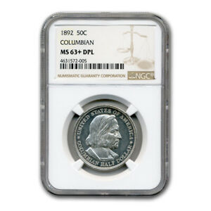 Click now to see the BUY IT NOW Price! 1892 COLUMBIAN EXPO HALF DOLLAR MS 63  NGC  DPL    SKU182033