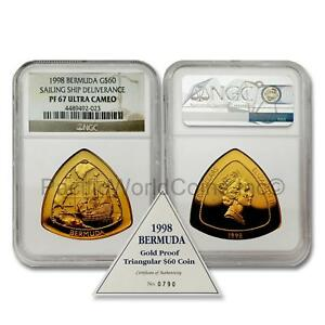 Click now to see the BUY IT NOW Price! BERMUDA 1998 SAILING SHIP DELIVERANCE $60 1 OZ GOLD NGC PF67 UC SKU 7048