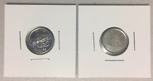 CANADA 2017 NEW 2 X 10 CENTS 100  FULL KIT  UNC DIRECTLY FROM MINT ROLL