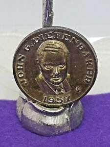 JOHN G. DIEFENBAKER 1957 COMMEMORATIVE MEDALLION