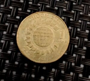 2011 CHOGM PERTH AUSTRALIA $1 COIN CIRCULATED