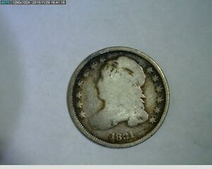 1831 CAPPED BUST DIME    37 140
