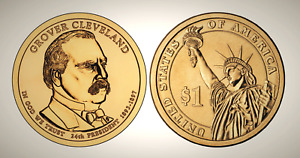 2012 D GROVER CLEVELAND 2ND TERM PRESIDENTIAL SERIES DOLLAR UNC MS UNCIRCULATED