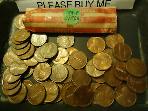 1979 P LINCOLN CENT CIRCS ROLL  > COMBINE POSTAGE AVAILABLE <