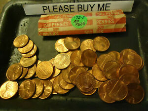 1978 P LINCOLN CENT AU REDS ROLL  > COMBINE POSTAGE AVAILABLE <